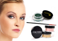gift kit : Gel eye liner green with foundation mf1 mf4