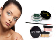 gift kit : Gel eye liner green with foundation mf5
