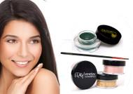 gift kit : Gel eye liner green with foundation mf6