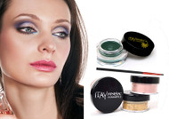 gift kit : Gel eye liner green with foundation mf7