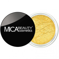 Mica Beauty Mineral Shimmer Eye Shadow - Vibrant Colors #101 Sunshine