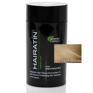 Hairatin (By Revolution) Hair Fibers All Natural Organic Keratin Protein Instant Hair Thickening System - Light Blonde