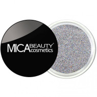 Mica Beauty Cosmetics Glitter Powder Face & Body - #G208 Silver