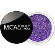 Mica Beauty Cosmetics Glitter Powder Face & Body - #G216 Purple