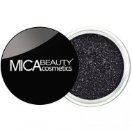 Mica Beauty Cosmetics Glitter Powder Face & Body - #G220 Black