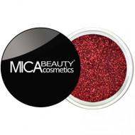 Mica Beauty Cosmetics Glitter Powder Face & Body - #G221 Red