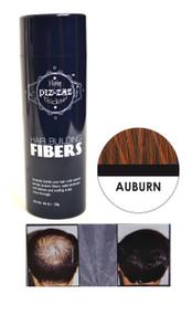 Piz-zaz All Natural Organic Keratin Protein Hair Fibers | Instant Hair Thickening System - - Auburn