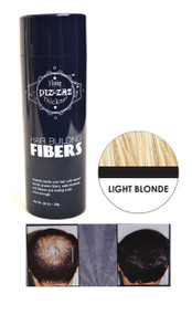 Piz-zaz  All Natural Organic Keratin Protein Hair Fibers | Instant Hair Thickening System - Light Blonde