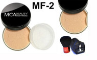 Lot 3 Items: 2x Mica Beauty Foundation Mf-2 Sandstone  +Itay Mineral  Premium Kabuki Brush