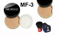 Lot 3 Items: 2x Mica Beauty Foundation Mf-3 Toffee   +Itay Mineral  Premium Kabuki Brush