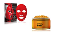 Cailyn lUXURIOUS  PHD Gold Massage Facial peeling gel + Snail Mask   5 count