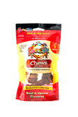 $AVINGS !! Beef  &  Cheese Mini   Knot  Chews by Poochie Dog Treats - 3 Pack BOGO !!BUY ONE BAG GET ONE BAG FREE (Value $avings of $3.99)PLEASE VIEW VIDEO  ON HOME PAGE TOP CENTER, VIEW INFORMATION ON BENEFITS OF POOCHIE DOG TREATS!!
