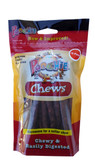 "Beef  Flavored  Chew Sticks  by  Poochie Dog Treats - approx 5"" Long each - 18 Pack"