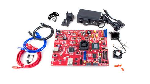 "CW310 ""Bergen Board"" - Large FPGA (K410T)  - Kit Contents"