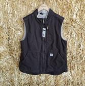 Carhartt Brown Ladies Vest (in-store-only-kc)