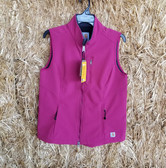 Women's Outerwear, Carhartt Ladies Pink Vest (in-store-only-kc)