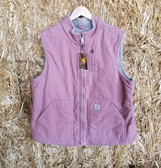 Women's Outerwear, Carhartt Ladies Pastel Pink Vest (in-store-only-kc)