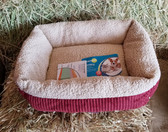 Aspen Pet Self-Warming Pet Bed with Space Technology, Small