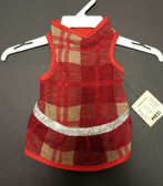 Canine Brands Plaid Dog Dress (Medium) (Pet Clothing at our King City store)