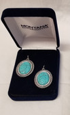 Montana Silversmith's Turquoise Medallion Earrings