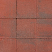 "Centurion 12"" x 12""  Paver, shown in RED (Available at our King City store location)"