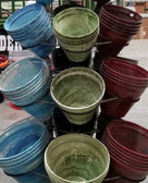 Austram, Cascade Nile Collection Pots (in-King-City-store-only) Priced as shown