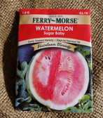 Ferry Morse Watermelon Sugar Baby Seeds, available at our King City store