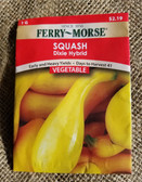 Ferry Morse Squash Dixie Hybrid Seeds, available in our King City store