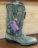 Durango Ladies Green Boots (in store only kc)