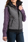 CINCH Gray Women's Vest (available in store only)