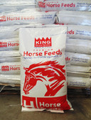 Horse Food, King Brand CarboRaider Low Cal Mini Horse & Pony Complete Feed, 50 lb.  (quality ingredients, Made & Packaged in the USA)