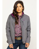 CINCH Gray (Conceal Carry) Women's Jacket  (available in store only)