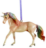 Christmas Ornament, Breyer Collectible Christmas Ornament Unicorn (in store only)