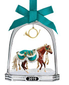 Breyer Collectible Christmas Ornament Minstrel Stirrup