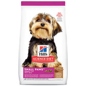 Dog Food, Hills Science Diet Veterinarian Recommended Small Paws/Toy Adult Dog 1 - 6,  15.5 lb.