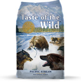Dog Food, Taste of the Wild Pacific Stream with Smoked Salmon, Dog Food, 28 lb. Made in the USA