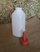 Little Giant Calf Bottle with Snap on Nipple, 2 qt.