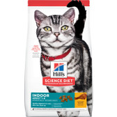 Cat Food, Hill's Science Diet Veterinarian Recommended Indoor Adult 1 - 6, 7 lb.