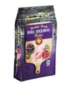 Cat Food, Premium Fussie Cat Market Fresh Quail & Duck Recipe Cat Food, 2 lb. MADE IN THE USA