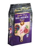 Cat Food, Premium Fussie Cat Market Fresh Quail & Duck Recipe Cat Food, 4 lb. MADE IN THE USA