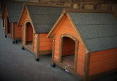 WARE Premium Plus A Frame Wood Dog House, Price reflects Small Size  (Available in store only)