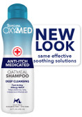 Tropiclean Oxymed Anti-Itch Medicated Oatmeal Shampoo, 20 fl. oz.