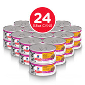 Dog Food, Hill's® Science Diet® Adult 7+ Small Paws™ Chicken & Barley Entrée Dog Food CASE (24 x 5.8 oz Cans)