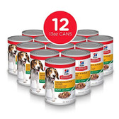 Puppy Food, Hill's Science Diet Puppy Chicken & Barley Entree, Canned, CASE (12 x 13 oz Cans)