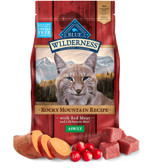 Cat Food, The Blue Buffalo Co. Wilderness High-Protein, Grain-Free, Red Meat Cat Food (chicken-free formula) 10 lb.