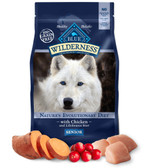 The Blue Buffalo Co. Wilderness High Protein Grain Free Senior (Chicken) Dog Food, 24 lb.