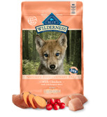 The Blue Buffalo Wilderness High Protein No-Grain Formula for Large Breed Puppies,  (Chicken Recipe) 24 lb.