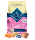 THE BLUE BUFFALO CO. LIFE PROTECTION FORMULA ADULT DOG FOOD CHICKEN BROWN RICE FORMULA,(FOR SMALL BREED) 15 lb.