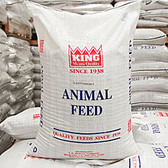 KING Natural Turkey & Game Grower 24% Protein, 50 lb. Made in the USA