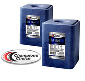Champions Choice Cobalt Iodized Salt, for Cattle Sheep & Goats, 50 lb. Block